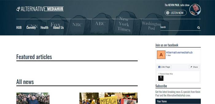 Новостной сайт независимых журналистов (Америка)